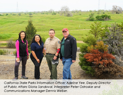 California State Parks Communications Team photo