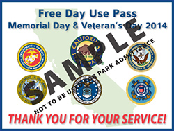 Free Day Use Pass Sample Image