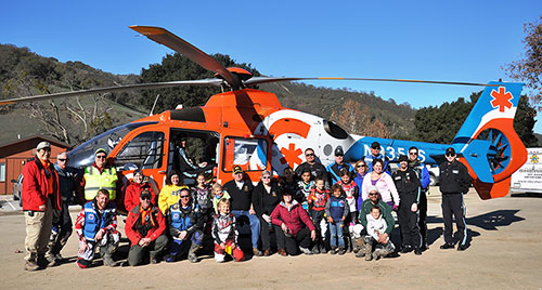 Group Photo CalStar Hardship Poker Run