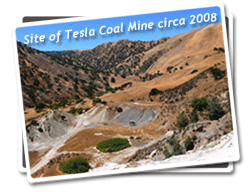 Site of Tesla Coal Mine circa 2008 Photo