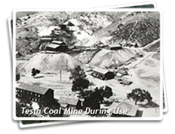 Tesla Coal Mine During Use Photo
