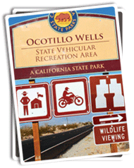 Photo of Ocotillo Wells SVRA Watchable Wildlife Sign