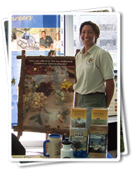Jennifer Buckingham at the California Native Plant Society Annual Conference