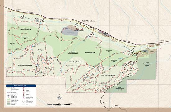 Map of the SVRA | 550 x 362 jpeg 99kB
