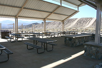 Hungry Valley SVRA Pavilion Picnic Area Photo