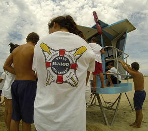 Photo of Junior Lifeguard uniform