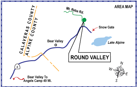 Round Valley SNO-Park Area Map