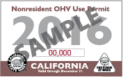 Nonresident OHV Use Permit Image