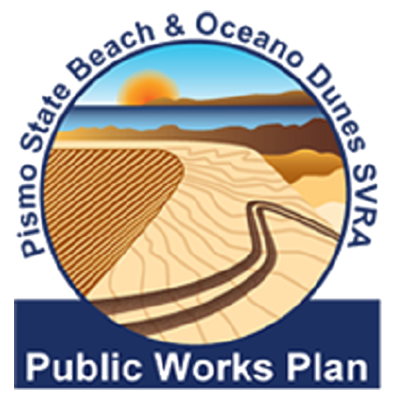 Pismo State Beach and Oceano Dunes SVRA Public Works Plan logo